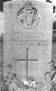 John Condon grave